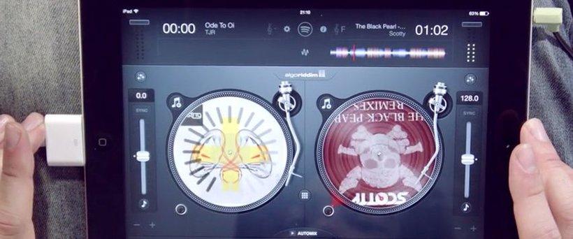 ipad DJ