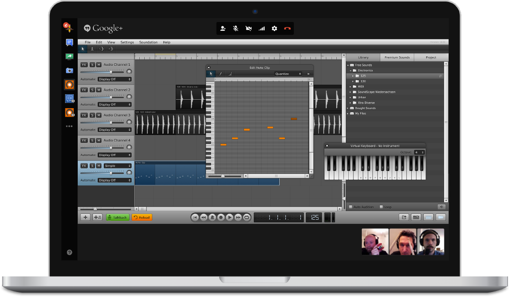 crear musica online gratis