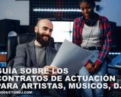 Cómo redactar un contrato de actuacion para dj u otro artista